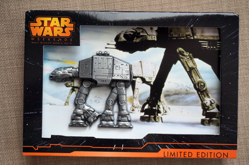 AT-AT as a jumbo hinged pin.