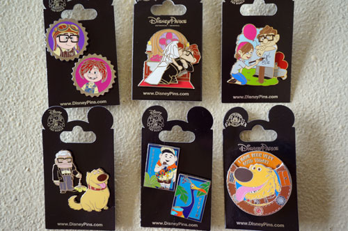 One luck winner will get all nine pins, which come on six original cards.