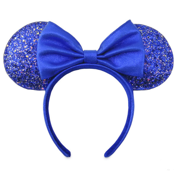 Minnie Mouse Ear Headband – Wishes Come True Blue: Feeling blue never looked so good. This sparkling Minnie ear headband is part of the Disney Parks Wishes Come True Blue Collection, and with its glittering ears and shimmering bow, it's a keepsake to treasure for 'ears to come! $29.99.