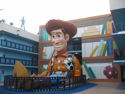 Woody doll at Disney's All Star Movies Resort