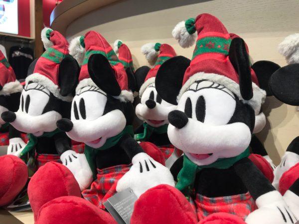 Mickey Santa Plush - $19.99