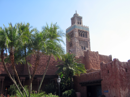 Morocco is one of the most unique country pavilions in World Showcase.