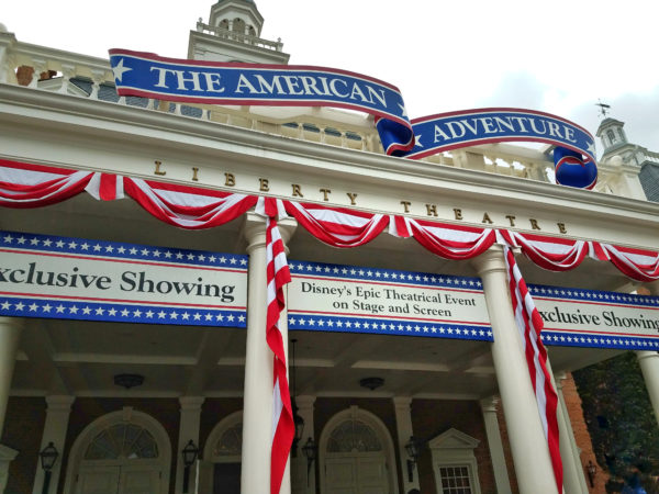 Don't miss The American Adventure!