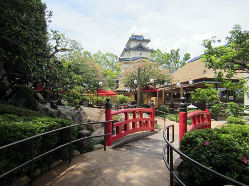 Top Six Places to Relax in Epcot