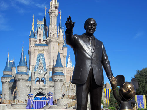 Top Six Statues in Walt Disney World.