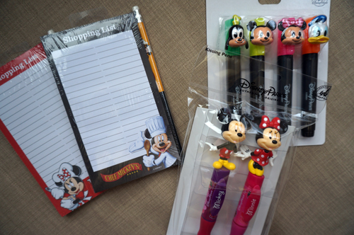 The prize pack includes two notepads, pens, and highlighters.