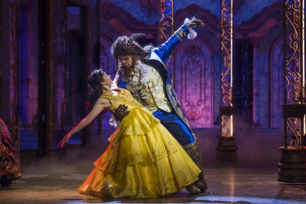 The Disney Cruise Line version of Beauty and the Beast is simply stunning. Photo credits (C) Disney Enterprises, Inc. All Rights Reserved