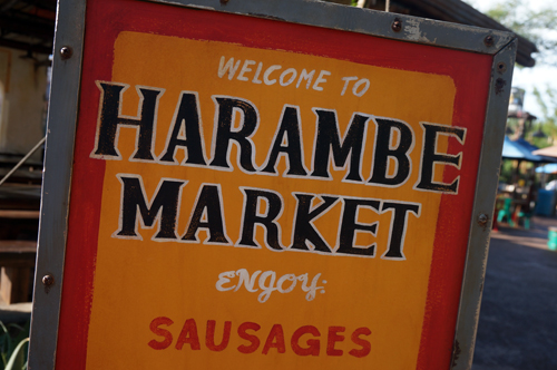 Welcome to the new Harambe Market, home to some great food options.