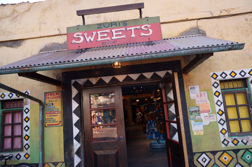 Zuri's Sweets Shop was home to animal dung desserts.